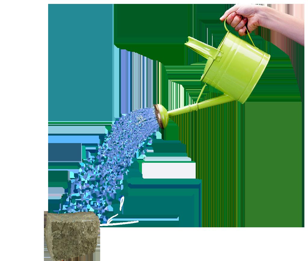 watering stone